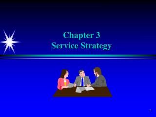 Chapter 3 Service Strategy