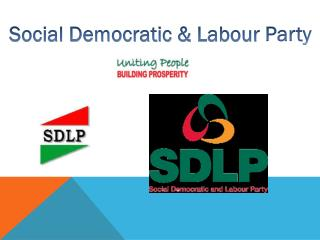 Social Democratic &  Labour  Party