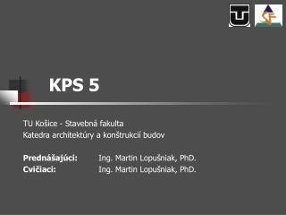 KPS 5