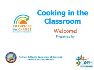 Cooking in the Classroom
