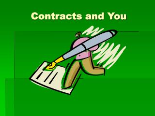 Contracts and You