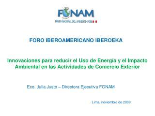 Lima, noviembre de 2009
