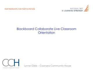 Blackboard Collaborate Live Classroom Orientation