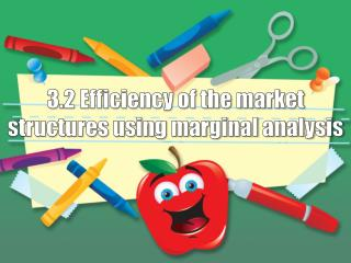 3.2 Efficiency of the market structures using marginal analysis