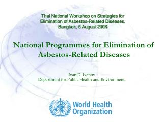 National Programmes for Elimination of Asbestos-Related Diseases