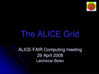 The ALICE Grid