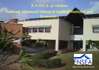 National Advanced School of Applied Statistics and Economics