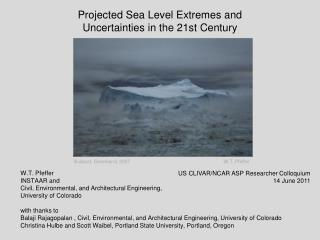 Projected Sea Level Extremes and  Uncertainties in the 21st Century