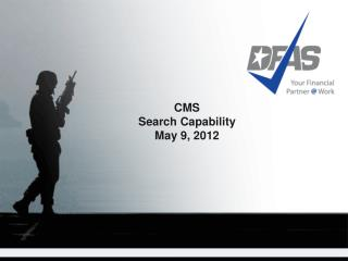 CMS Search Capability May 9, 2012