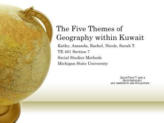 The Five Themes of Geography within Kuwait