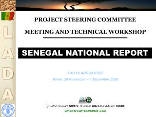 PROJECT STEERING COMMITTEE MEETING AND TECHNICAL WORKSHOP