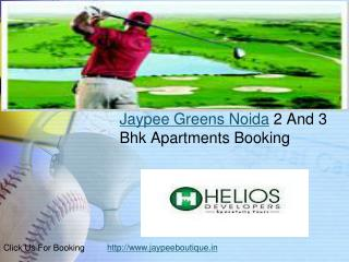 Jaypee Boutique Salling All Jaypee Greens Projects Residenti