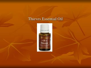High Quality Thieves Essential Oil