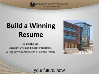 Build a Winning Resume