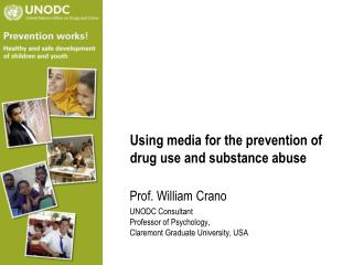 Using media for the prevention of drug use and substance abuse