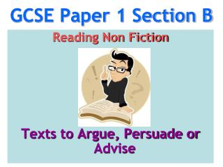 GCSE Paper 1 Section B