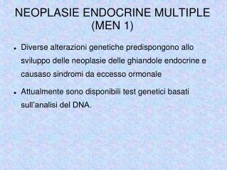 NEOPLASIE ENDOCRINE MULTIPLE (MEN 1) ‏