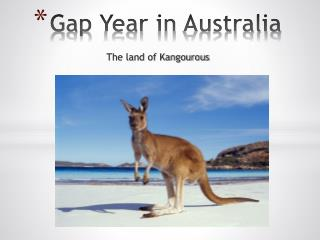 Gap  Year  in  Australia