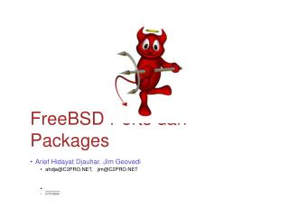 FreeBSD Ports dan Packages