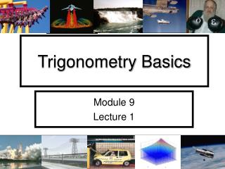 Trigonometry Basics