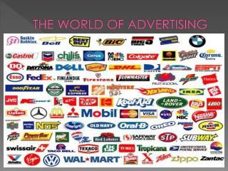 THE WORLD OF ADVERTISING