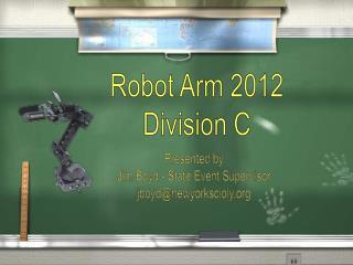 Robot Arm 2012 Division C