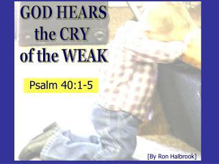 Psalm 40:1-5
