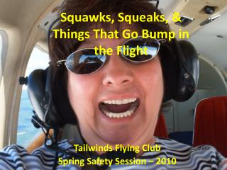 Tailwinds Flying Club Spring Safety Session – 2010