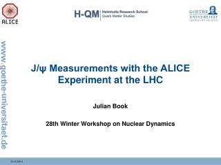 J/ψ Measurements with the ALICE Experiment at the LHC