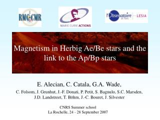 Magnetism in Herbig Ae/Be stars and the link to the Ap/Bp stars