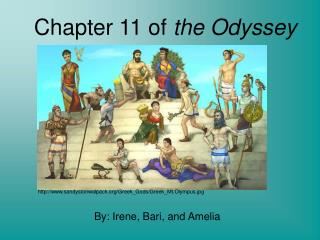 Chapter 11 of  the Odyssey