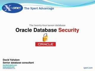 The twenty-four/seven database Oracle Database  Security