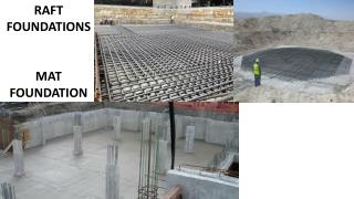 RAFT FOUNDATIONS MAT FOUNDATION