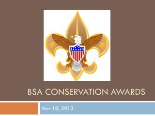 BSA Conservation Awards