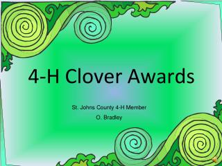 4-H Clover Awards