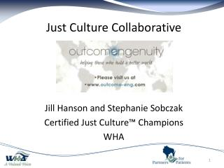 Just Culture Collaborative