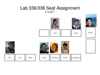 Lab 336/338 Seat Assignment 2.15.2011