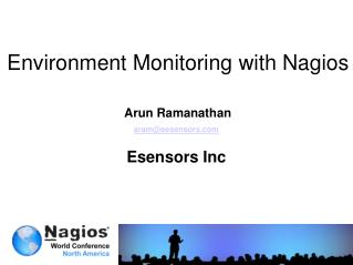 Environment Monitoring with  Nagios