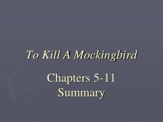 to kill a mockingbird 15 17