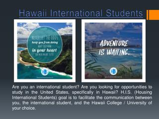 Hawaii Student Housing