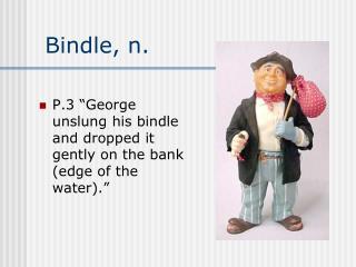 Bindle, n.