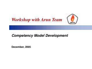 Workshop with Arun Team