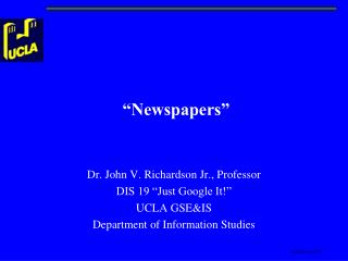 """Newspapers"""