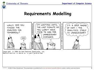 Requirements Modelling