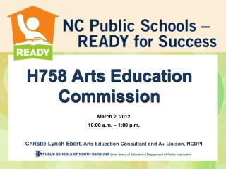 H758 Arts Education Commission