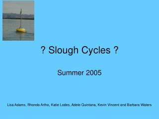 ? Slough Cycles ?