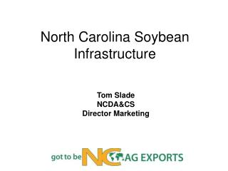 North Carolina Soybean Infrastructure