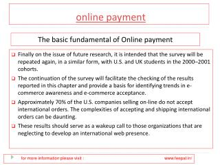 How to pick the best site of online payment