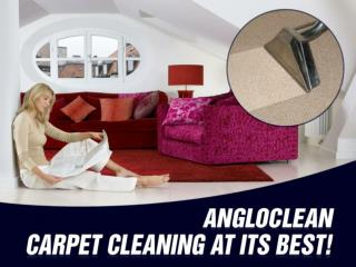 Carpet cleaning services in Gloucester from AngloClean