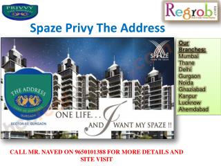 Spaze Privy The Address sector 93 Gurgaon